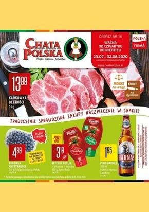 Duży wybór w sklepach Chata Polska