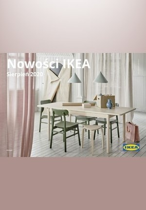 Gazetka promocyjna IKEA - Nowości Ikea - Sierpień