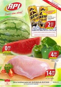 Gazetka promocyjna Api Market - Promocje w Api Market - ważna do 28-07-2020