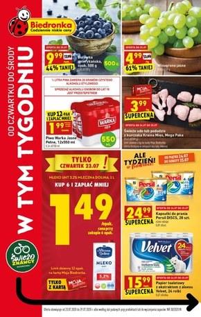 Promocje w sklepach Biedronka