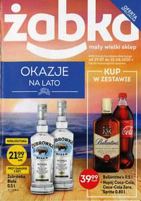 Gazetka promocyjna Żabka - Okazje na lato w Żabce - ważna do 25-08-2020