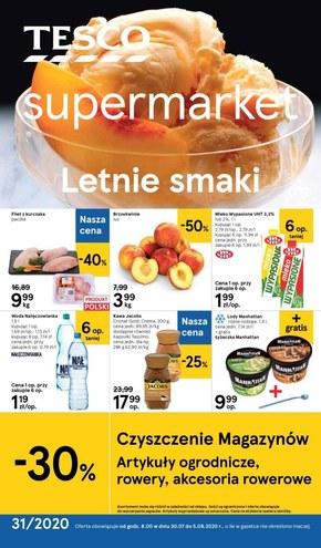 Letnie smaki w Tesco Supermarket!