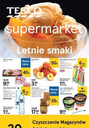 Gazetka promocyjna Tesco Supermarket - Letnie smaki w Tesco Supermarket!