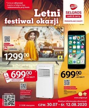 Letni festiwal okazji w Selgrosie