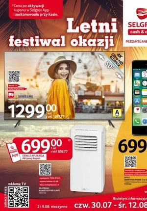 Gazetka promocyjna Selgros Cash&Carry - Letni festiwal okazji w Selgrosie