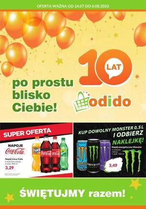 Gazetka promocyjna Odido - Promocje urodzinowe Odido