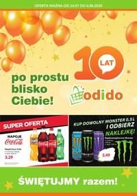 Gazetka promocyjna Odido - Promocje urodzinowe Odido - ważna do 06-08-2020