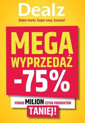 Gazetka promocyjna Dealz - Mega wyprzedaż w Dealz!