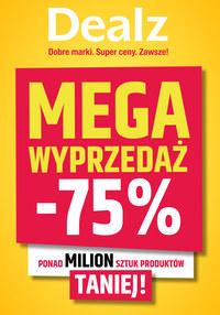 Gazetka promocyjna Dealz - Mega wyprzedaż w Dealz! - ważna do 13-08-2020
