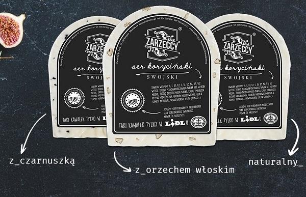 ser koryciński w Lidlu