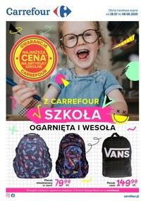 Gazetka promocyjna Carrefour - Szkoła z Carrefour!  - ważna do 08-08-2020