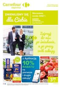 Gazetka promocyjna Carrefour Express - Carrefour Express zmienia się dla Ciebie!  - ważna do 01-08-2020