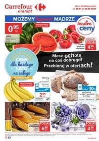 Gazetka promocyjna Carrefour Market - Kupuj z ochotą w Carrefour Market - ważna do 03-08-2020