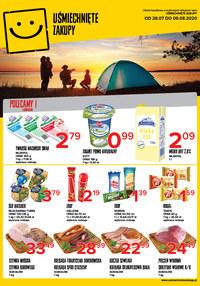 Gazetka promocyjna Uśmiechnięte zakupy - Mega ceny w sklepach Uśmiechnięty Zakupy - ważna do 09-08-2020