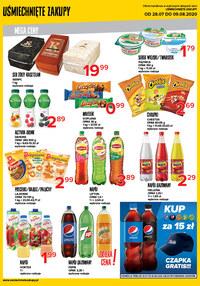 Gazetka promocyjna Uśmiechnięte zakupy - Mega ceny w sklepach Uśmiechnięty Zakupy