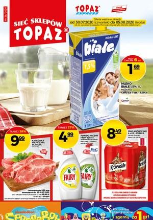 Gazetka promocyjna Topaz - Mięsna uczta w Topaz