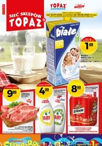 Gazetka promocyjna Topaz - Mięsna uczta w Topaz - ważna do 05-08-2020