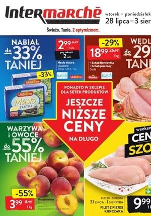Gazetka promocyjna Intermarche Super - Świeżo tanio i z optymizmem w Intermarche!