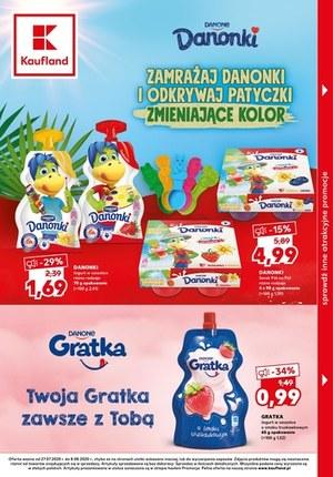 Gazetka promocyjna Kaufland - Pyszne jogurty w Kauflandzie