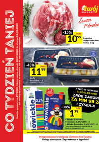 Gazetka promocyjna Twój Market - Oferta handlowa Twój Market - ważna do 04-08-2020