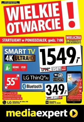 Wielkie Otwarcie - Media Expert Wieliczka