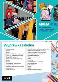Gazetka promocyjna EMPiK - Plecaki w sklepach EMPiK