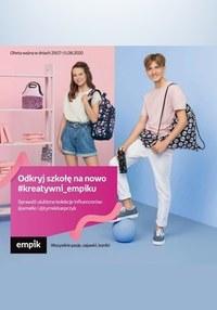 Gazetka promocyjna EMPiK - Wyprawka szkolna z EMPiKiem - ważna do 11-08-2020