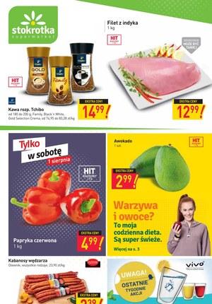 Gazetka promocyjna Stokrotka Supermarket - Nowe akcje promocyjne w Stokrotce Supermarket