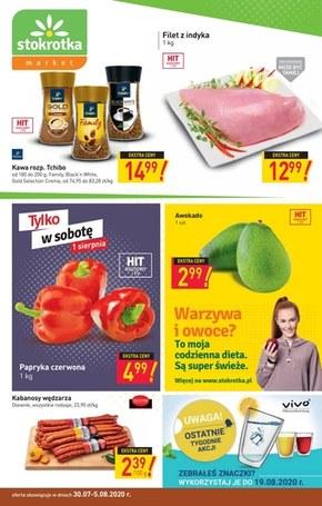 Świeże produkty w Stokrotce Market!