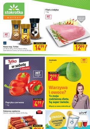 Gazetka promocyjna Stokrotka Market - Świeże produkty w Stokrotce Market!