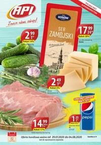 Gazetka promocyjna Api Market - Udane zakupy w Api Market!  - ważna do 04-08-2020