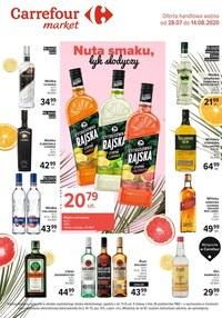 Gazetka promocyjna Carrefour Market - Nuta smaku, łyk słodyczy w Carrefour Market - ważna do 14-08-2020