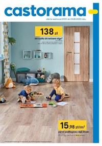 Gazetka promocyjna Castorama - Drzwi i podłogi w Castoramie - ważna do 23-08-2020