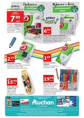 Wyróżniaj się z  Auchan Hipermarket!