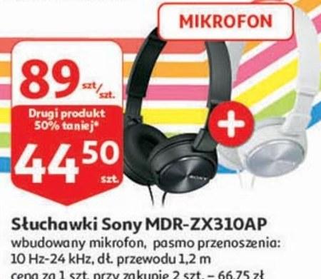 Słuchawki z mikrofonem Sony