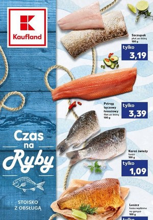 Gazetka promocyjna Kaufland - Czas na ryby w Kauflandzie