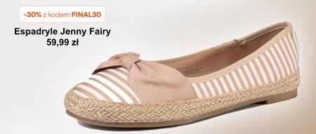 Espadryle damskie Jenny Fairy