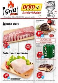 Gazetka promocyjna Prim Market - Grilluj z Prim Market - ważna do 05-08-2020