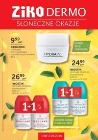 Gazetka promocyjna Ziko Dermo  - Słoneczne okazje w Ziko Dermo - ważna do 31-08-2020
