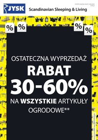 Gazetka promocyjna Jysk - Wszystko dla Twojego domu w Jysk!