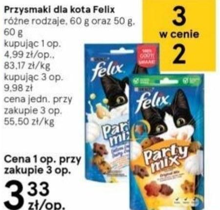 Przysmak dla kota Felix