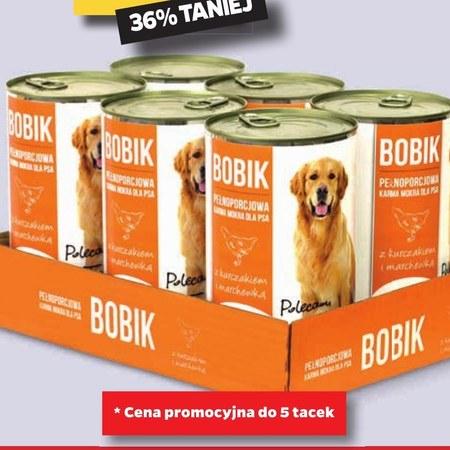 Karma dla psa Bobik