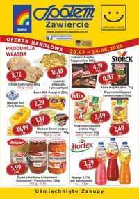 Gazetka promocyjna PSS Społem Zawiercie - Oferta handlowa Społem Zawiercie - ważna do 14-08-2020
