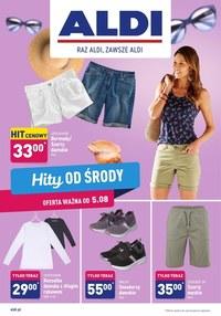Gazetka promocyjna Aldi - Hity od środy w Aldi!  - ważna do 08-08-2020