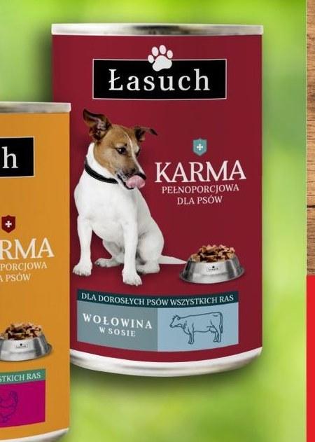 Karma dla psa Łasuch