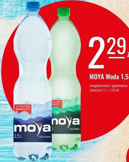 Woda mineralna Moya