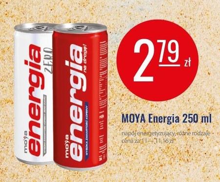 Napój energetyczny Moya