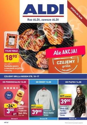 Gazetka promocyjna Aldi - Aldi wyczuwa grilla