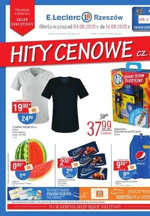 Gazetka promocyjna E.Leclerc - Hity cenowe - E.Leclerc Rzeszów!