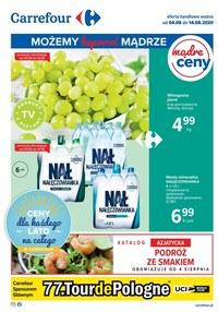 Gazetka promocyjna Carrefour - Najnowsza oferta Carrefour! - ważna do 14-08-2020